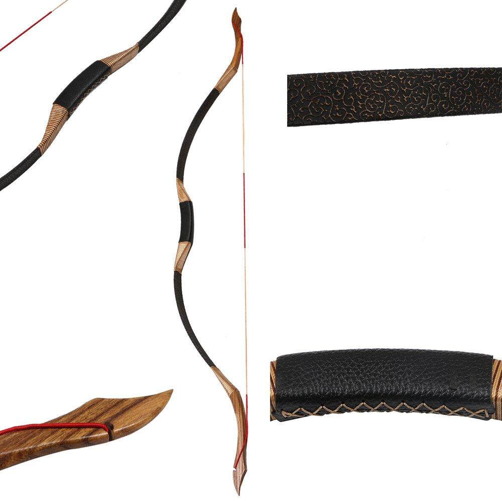 toparchery handmade recurve longbow